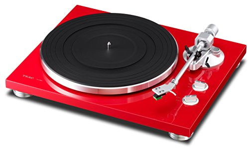 TEAC USB Compatible Analog Turntable TN-300-SC (Scarlet)【Japan Domestic Genuine Products】【Ships from Japan】