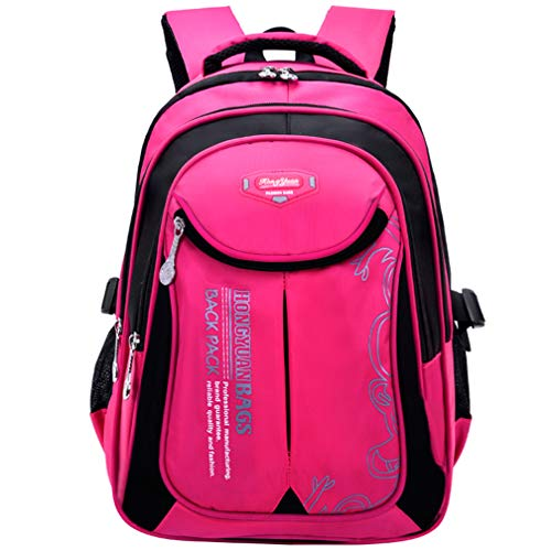 Macbag School Backpack Casual Daypack Travel Outdoor Camouflage Backpack for Boys and Girls (Rosy XD) (Best Backpacks For Girls)