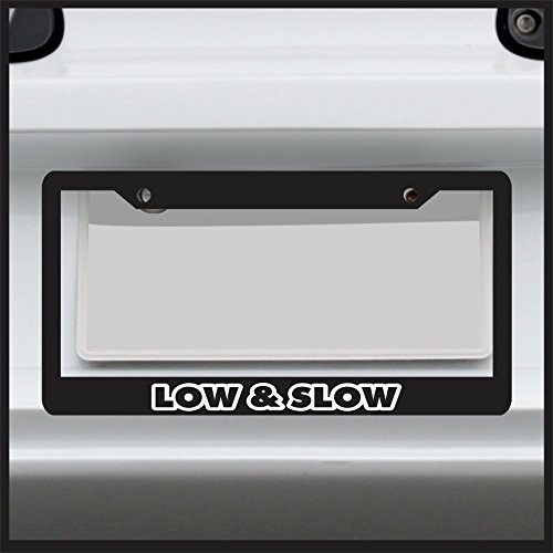 lowered license plate frame - 3