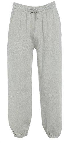 Xxl À Molleton Tailles Taille M Jogging Aussi Bas Hommes 3xl 6xl Plus Gris Pantalons Survêtement pq0dB7