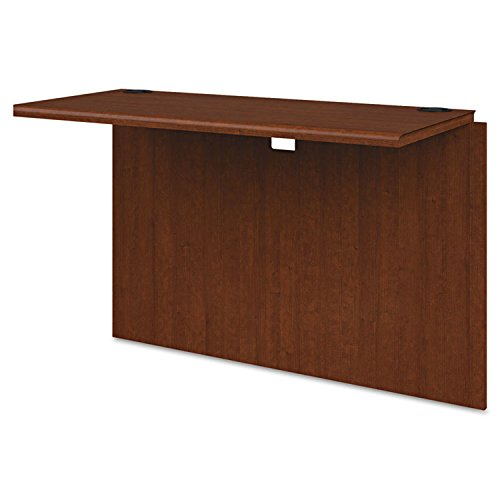 Hon 10700 Waterfall Edge - HON 10700 Series Laminate Wood Furniture - 42quot; Width x 20quot; Depth x 29.5quot; Height - Waterfall Edge - Hardwood - Henna Cherry, Laminate