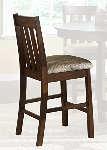 Liberty Furniture Urban Mission Upholstered Barstool, 24-Inch (Sets Liberty Industries Furniture Bedroom)