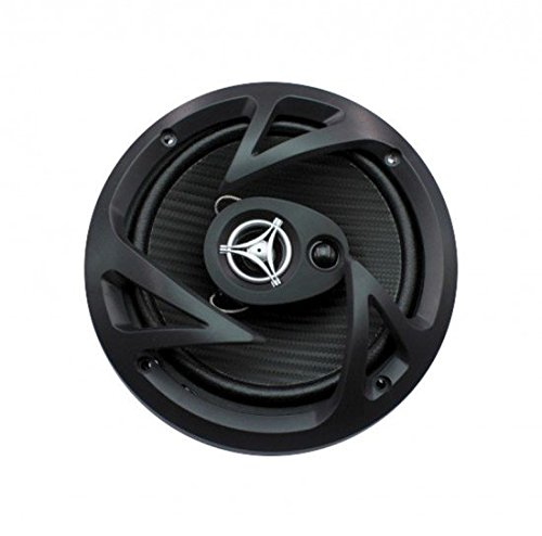 Power Acoustik EF-653 Edge Series 400 Watt 6.5″ 3-Way Coaxial Speakers (Power Acoustik Cone compare prices)
