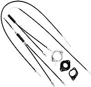 Uonlytech 1Pc Bike Brake Cables, Universal Standard Bicycle Brake Cable Set, BMX Brake Cables Bicycle Replacem