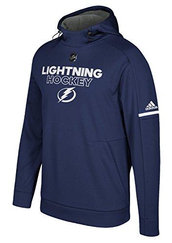 Tampa Bay Lightning Locker Room (Tampa Bay Lightning Adidas NHL Men's 2017 Authentic Pro Hooded Sweatshirt)