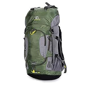 Lixada Mochila de Senderismo Impermeable 60L con Cubierta de Lluvia para Excursionismo Alpinismo Acampada Ciclismo al Aire Libre: Amazon.es: Deportes y aire ...