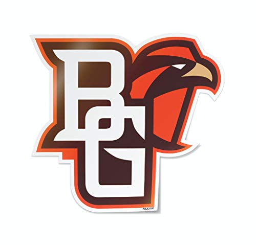 (Nudge Printing Collegiate Car Decal Sticker (Bowling Green State University Falcons)