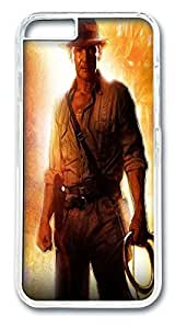 Indianna Jones Custom iphone 6 plus 5.5inch Case Cover Polycarbonate Transparent by Maris's Diaryby Maris's Diary
