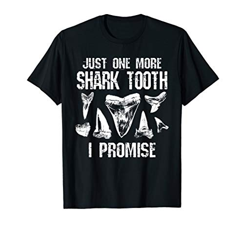 Fossil Shark Tooth Funny I Promise T Shirt ()