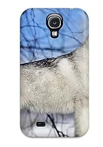 Hot ZCq-208YMOIYAif Dog Tpu Case Cover Compatible With Galaxy S4