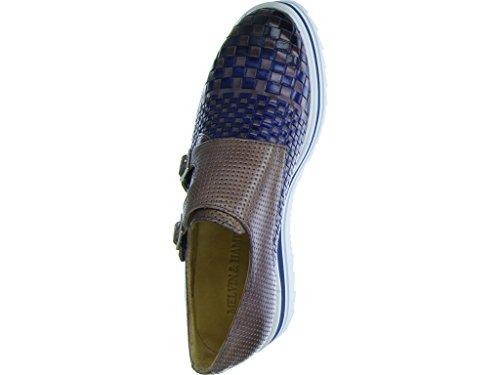 Melvin mujer Mocasines Blue Flats Hamilton para 3 Noemi g41xvw6B