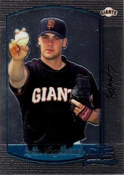 - 2000 Bowman Chrome Draft Picks 63 Ryan Vogelsong Near Mint to Mint