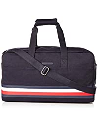 Tommy Hilfiger Stephan Duffle Bag, Tommy Navy, International Carry-on (Model: 8816710)