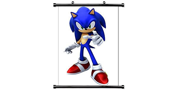 Amazon Com Sonic The Hedgehog Game Fabric Wall Scroll Poster 32 X 51 Inches Prints Posters Prints