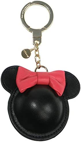 キーホルダー ディズニー×ケイトスペード ミニーマウス Disney コラボ商品 レディース バッグチャーム キーリング リボン レザー 1kru0193-974 [並行輸入品]
