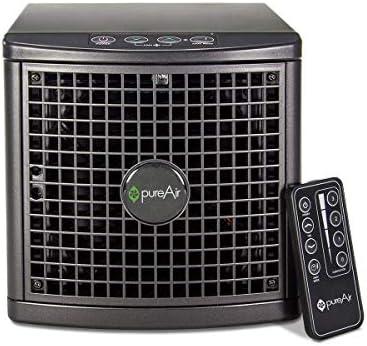 GreenTech Environmental Purificador de aire compacto 1500 con control remoto para eliminar los virus y los olores de ...