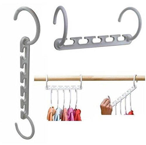 Clothes Hanger Rack Clothing Hook Magic Space Saver Organizer Set - 1