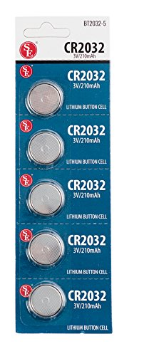 SE - Battery - CR2032, Button Cell, 5 Pc