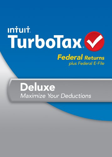 TurboTax Deluxe Fed + Efile 2013 OLD VERSION by Intuit