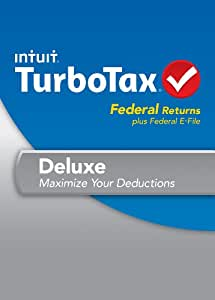 TurboTax Deluxe Fed + Efile 2013 OLD VERSION