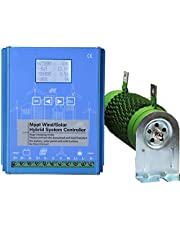 FLYT 1500 W Wind Solar Hybrid Laadregelaar, 1000 W Wind en 500 W Zonnepaneel 12 V/24 V Off Grid MPPT Windturbine Solar Laadregelaar