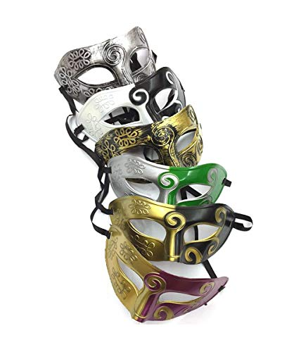 Unisex Retro Masquerade Mask Mardi Gras Costume Party