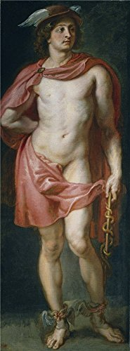 Oil Painting 'Rubens Peter Paul Mercurio 1636 38 ' Printing On Perfect Effect Canvas , 16 X 43 Inch / 41 X 110 Cm ,the Best Laundry Room Artwork And Home Decor And Gifts Is This High Resolution Art Decorative Canvas Prints