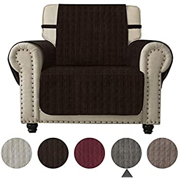 Amazon Com Ameritex Sofa Cover Slip Resistant Chair