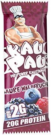 KAUPAU – DIE POWER KAUSTANGE (12 RIEGEL) (Saure Waldfrucht)