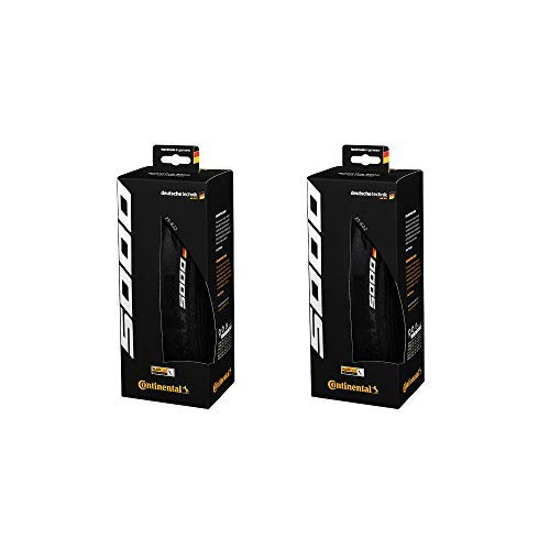 Continental Grand Prix 5000 Performance Bike Tire Set of 2 (700 x 25, Clincher)