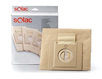 Caja 5 bolsas aspirador Solac AD2728: Amazon.es: Hogar
