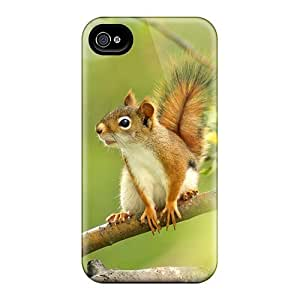New Premium Flip Squirrel On A Branch Skin Cases Diy For Touch 4 Case Cover