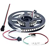 WESIRI WS2812B LED Strip Lights 3.2ft 1M WS2812B 144LEDs Programmable Individual Addressable WS2811 Built-in 5050 RGB…
