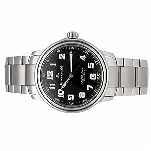 Blancpain Leman automatic-self-wind mens Watch 2100-1130N-71 (Certified Pre-owned)