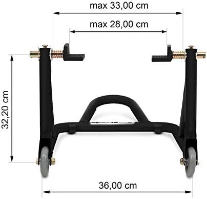 Rear Paddock Stand Ducati Scrambler Desert Sled ConStands XM Universal black mat