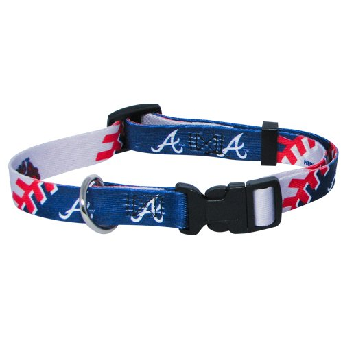 Hunter MFG Atlanta Braves Dog Collar, Extra Large