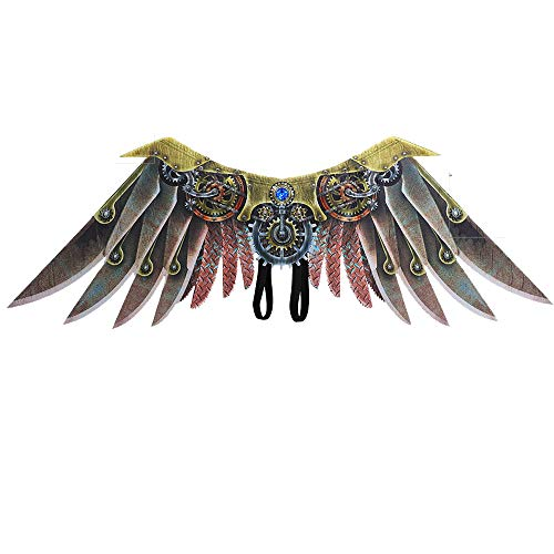 Halloween Steampunk Wings Angel Costume Party Accessories for Kids down