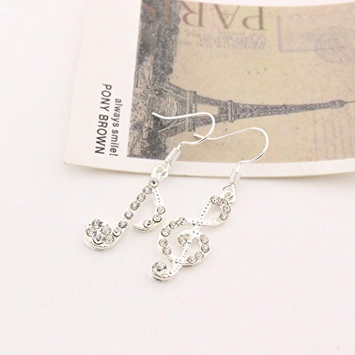 (Sunward Valentines Day Gifts Pugster Champagne Angel Teardrop Swarovski Elements Crystal Earrings)