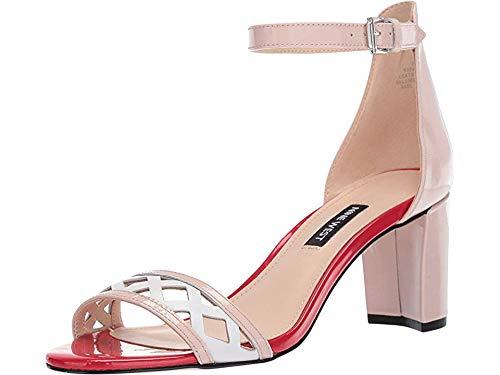 Nine West Women's Paisley Heeled Sandal Light Natural 9.5 M US
