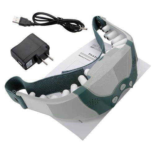 TOOGOO(R) nouvelle santé électrique magnétique soulager la Fatigue oculaire soin Relax masseur front