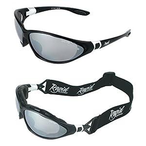 straps for glasses for sports  Moritz UV400 Black SKI GOGGLES / SPORT SUNGLASSES With ...