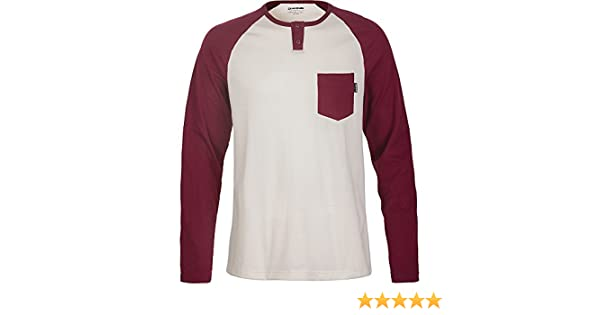 2a9c82a4d Dakine Mens Phoenix Long Sleeve Henley Shirt at Amazon Men's Clothing store: