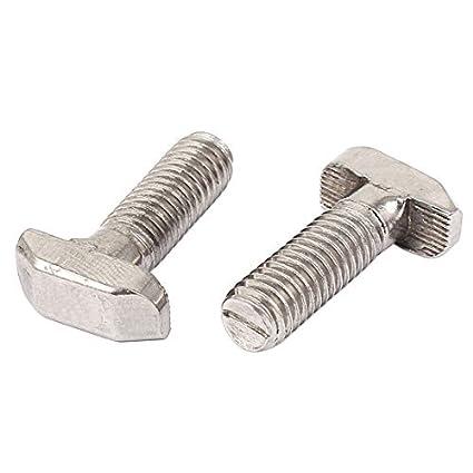 Tema eDealMax M8 T-Slot Drop-In perno deslizante Tornillo de ...