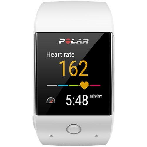 Polar M600 GPS Smart Watch with Heart Rate and Cinch Bag Fitness Kit - White by Polar (Image #2)