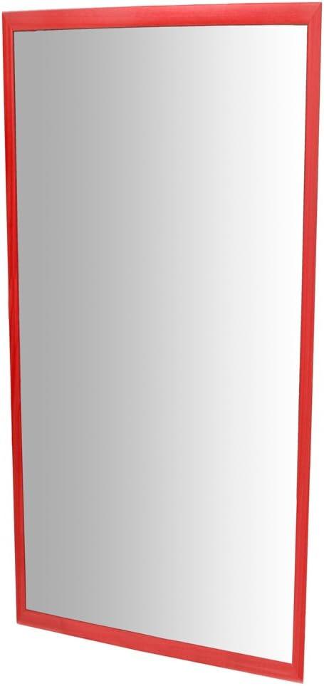 gelb 120x 50cm 120x 50cm HenBea Spiegel mit Holzrahmen 755//B4