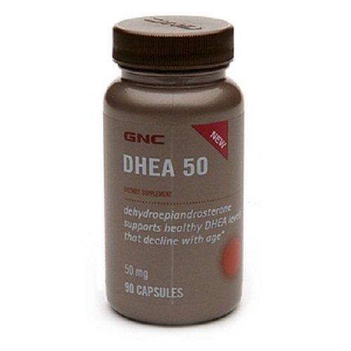 GNC DHEA 50, capsules, 90 ch