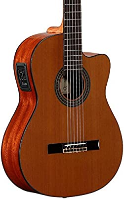 Alvarez Artist Series AC65CE Classical Acoustic-Electric Guitar, from Alvarez