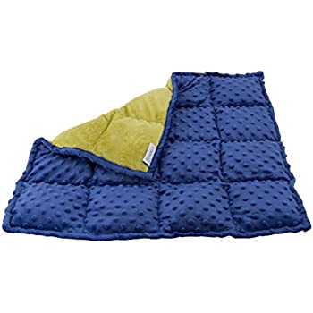 Sensory Weighted Lap Pad for Kids - 5-pounds - Great for Children with Autism, ADHD, and Sensory Processing Disorder