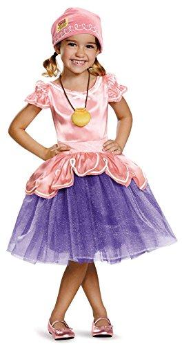 Child's Land Girl Costume (Izzy Tutu Deluxe Costume, Large (4-6x))