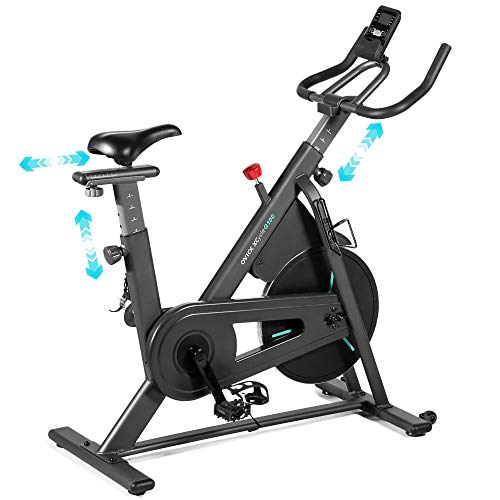 OVICX Stationary Bike with Magnetic Resistance Exercise Bikes Indoor Cycling Bike Fully Adjustable Comfortable Seat and…